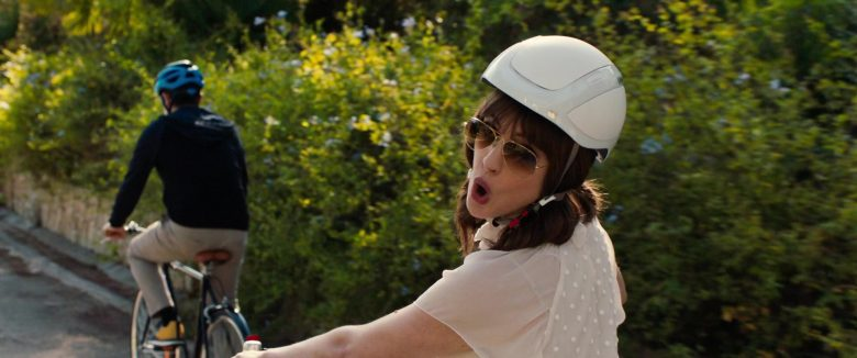 Limar Bike Helmet Worn by Anne Hathaway in The Hustle (2019) - Movie Product Placement