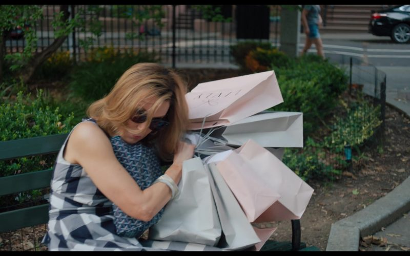 Livly Kids Clothing Store Paper Bags Held by Felicity Huffman (1)