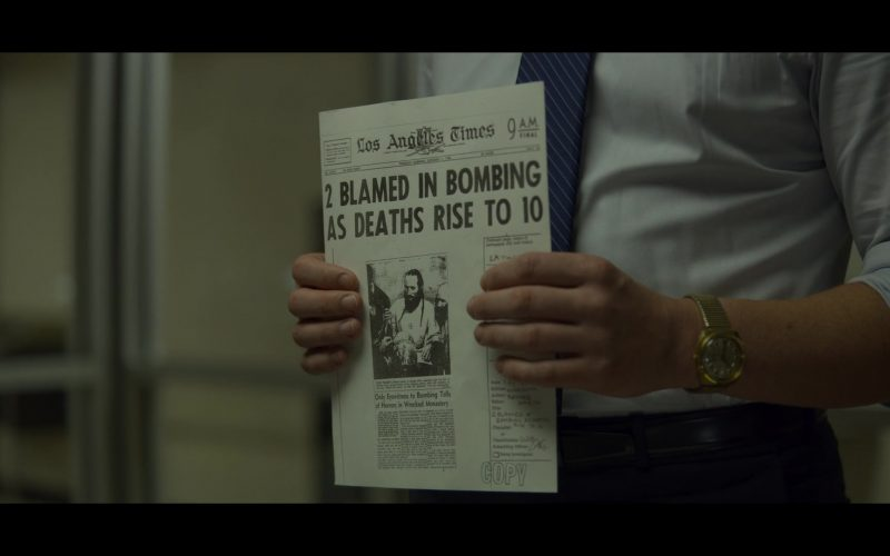 Los Angeles Times Newspaper in Mindhunter
