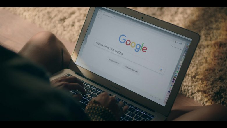 MacBook Air and Google WEB Search in Dear White People - Season 3, Episode 9 (2019) - TV Show Product Placement