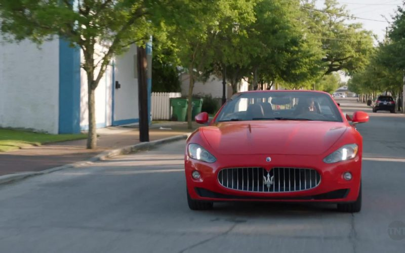 Maserati GranCabrio Red Sports Car Used by Niecy Nash as Desna Simms in Claws (1)