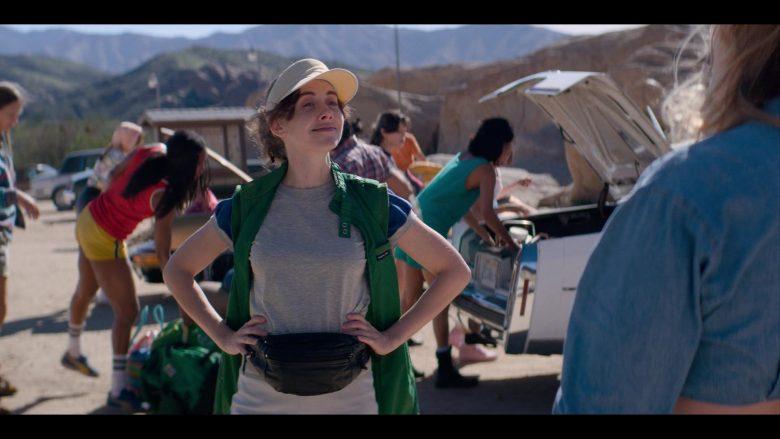 "Members Only Green Vest Worn by Alison Brie as Ruth ""Zoya the Destroya"" Wilder in Glow - Season 3, Episode 6, ""Outward Bound"" (2019) TV Show"