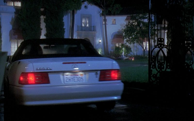 Mercedes-Benz 300 SL [R129] Car Used by Meryl Streep in Death Becomes Her (7)