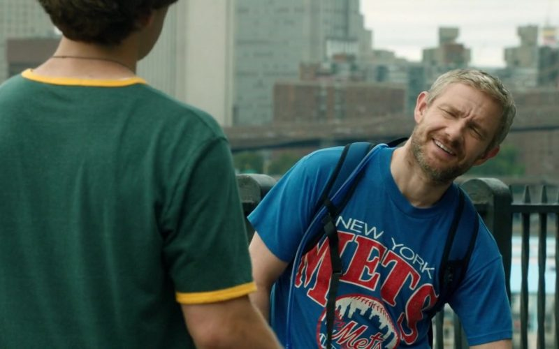 Mets Blue T-Shirt Worn by Martin Freeman in Ode to Joy