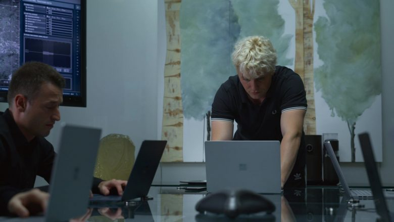 Microsoft Surface Laptop Used by Jon Fletcher in The Rook - Season 1, Episode 8, Chapter 8 (2019) - TV Show Product Placement