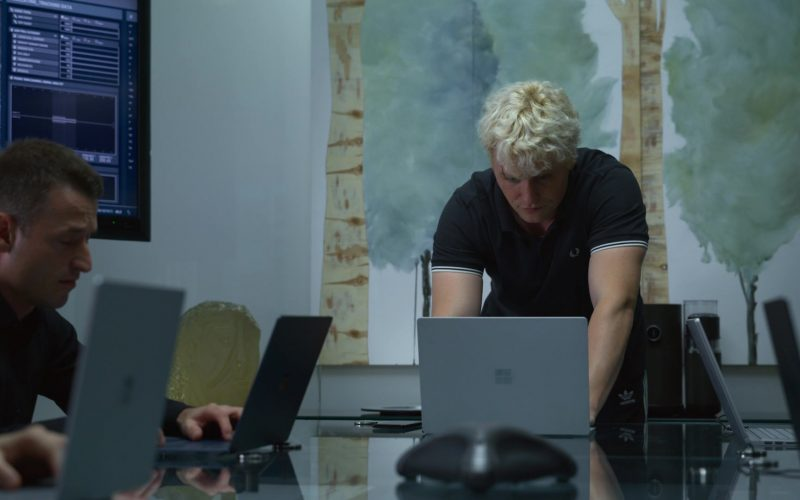 Microsoft Surface Laptop Used by Jon Fletcher in The Rook