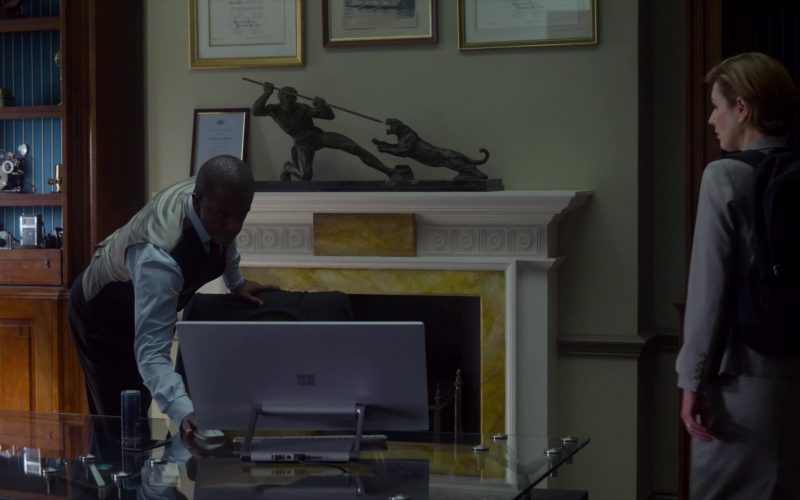 Microsoft Surface Studio All-In-One Computer Used by Adrian Lester in The Rook (3)