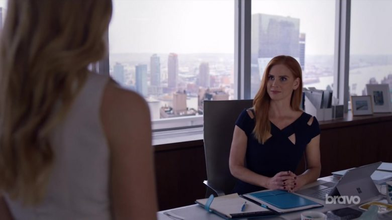 """Microsoft Surface Tablet Used by Sarah Rafferty in Suits - Season 9, Episode 5, """"If the Shoe Fits"""" (2019) - TV Show Product Placement"""
