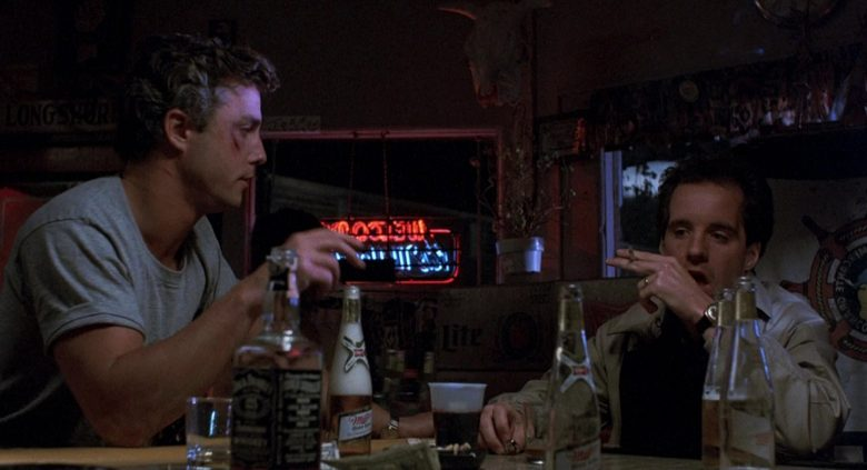 Miller Beer And Jack Daniels Whiskey in To Live and Die in L.A. (1985) - Movie Product Placement