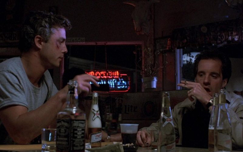 Miller Beer And Jack Daniels Whiskey in To Live and Die in L.A (1)