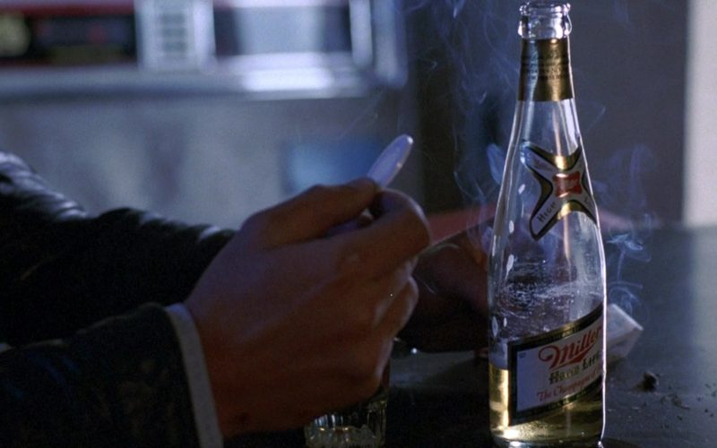 Miller High Life Beer Bottle in To Live and Die in L.A.