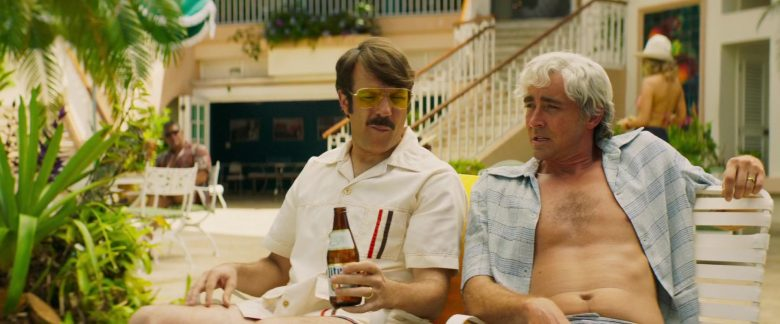 Miller Lite Beer Enjoyed by Jason Sudeikis in Driven (2019) Movie