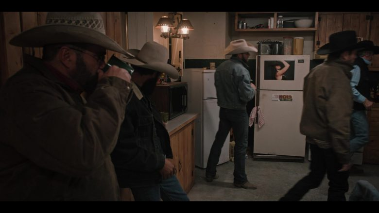 NCHA (National Cutting Horse Association) Sticker in Yellowstone - Season 2, Episode 6, Blood the Boy (2019) - TV Show Product Placement
