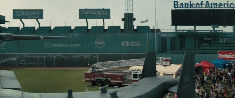 National Car Rental, Red Sox, Think Energy, United Rentals, Bank Of America in Godzilla: King of the Monsters (2019) - Movie Product Placement