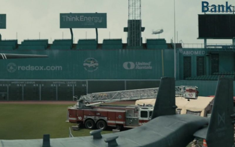 National Car Rental, Red Sox, Think Energy, United Rentals, Bank Of America in Godzilla