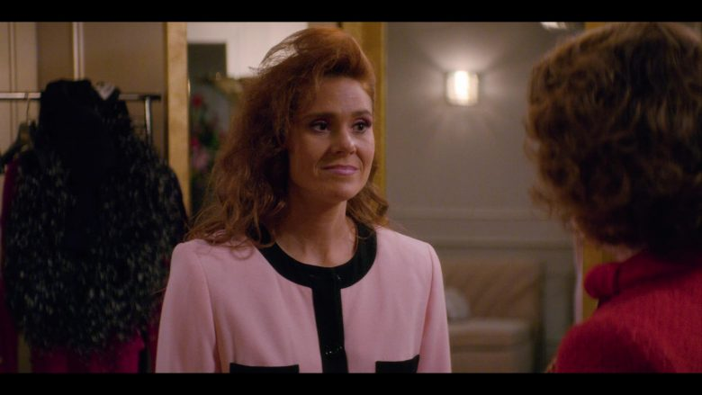 """Neiman Marcus Pink Dress Worn by Kate Nash as Rhonda 'Britannica' Richardson in Glow - Season 3, Episode 7, """"Hollywood Homecoming"""" (2019) - TV Show Product Placement"""