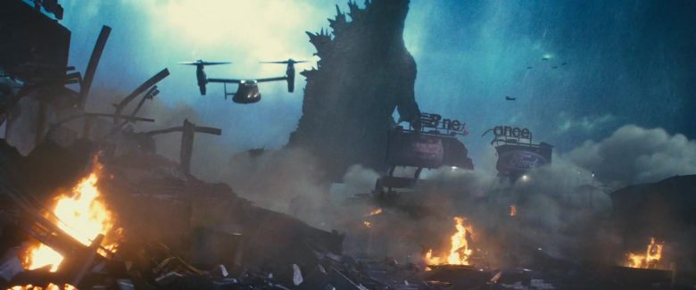 New Balance and Ford in Godzilla: King of the Monsters (2019) - Movie Product Placement