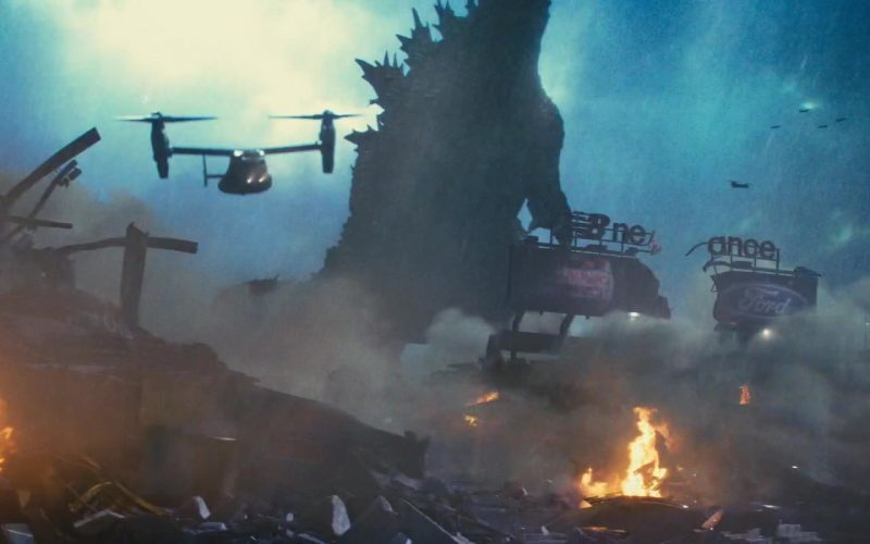 New Balance and Ford in Godzilla King of the Monsters
