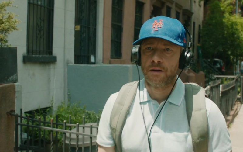 New Era New York Mets MLB Blue Hat Worn by Martin Freeman in Ode to Joy (1)
