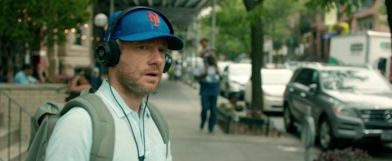 New Era New York Mets MLB Blue Hat Worn by Martin Freeman in Ode to Joy (2019) - Movie Product Placement