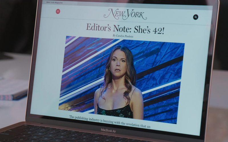 New York Magazine & MacBook Air Laptop in Younger