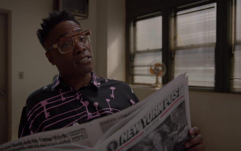 New York Post Newspaper in Pose (2)