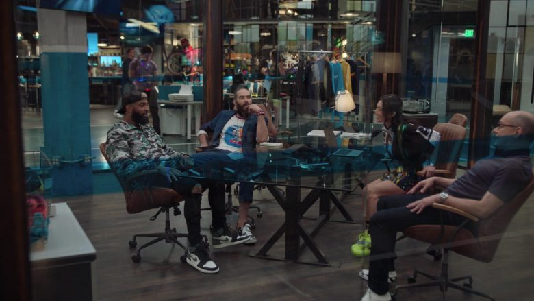 Nike Sneakers (Black/Grey/White) in Ballers - Season 5, Episode 2, Must Be the Shoes (2019) - TV Show Product Placement