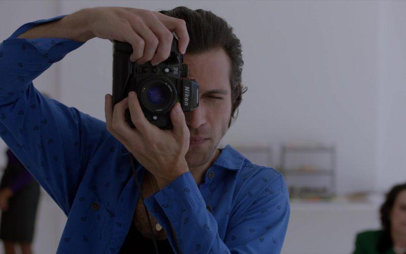 Nikon Camera in Pose