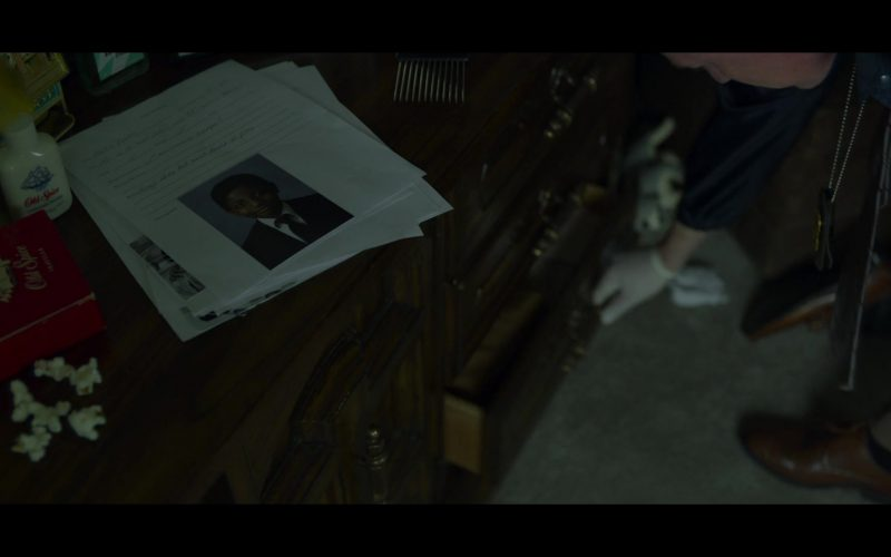 Old Spice Deodorant in Mindhunter