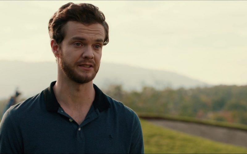 Original Penguin Blue Polo Shirt Worn by Jack Quaid in Plus One (4)