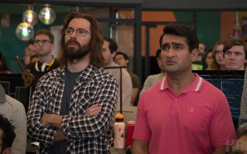 Original Penguin Pink Polo Shirt Worn by Kumail Nanjiani as Dinesh Chugtai in Silicon Valley (4)