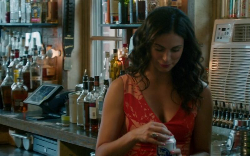 Pabst Beer Can Held by Morena Baccarin in Ode to Joy