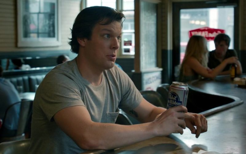 Pabst Blue Ribbon Beer Enjoyed by Jake Lacy in Ode to Joy