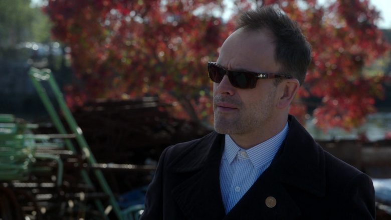 Persol Sunglasses Worn by Jonny Lee Miller in Elementary - Season 7, Episode 11, Unfriended (2019) - TV Show Product Placement