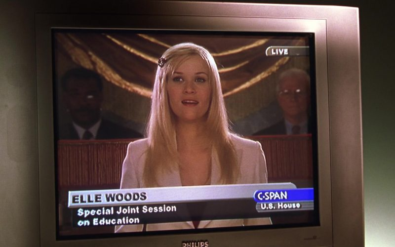 Philips TV in Legally Blonde 2
