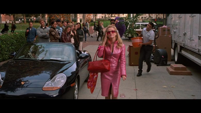 Porsche Boxster [986] Convertible Sports Car Used by Reese Witherspoon as Elle Woods in Legally Blonde (2001) - Movie Product Placement