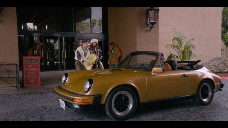 "Porsche Carrera Convertible Car in Glow - Season 3, Episode 2, ""Hot Tub Club"" (2019) - TV Show Product Placement"
