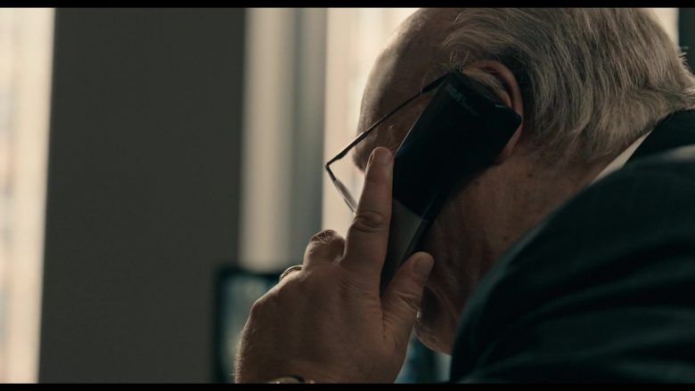 """RCA Telephone Used by Russell Crowe as Roger Ailes in The Loudest Voice - Season 1, Episode 6, """"2015"""" (2019) - TV Show Product Placement"""