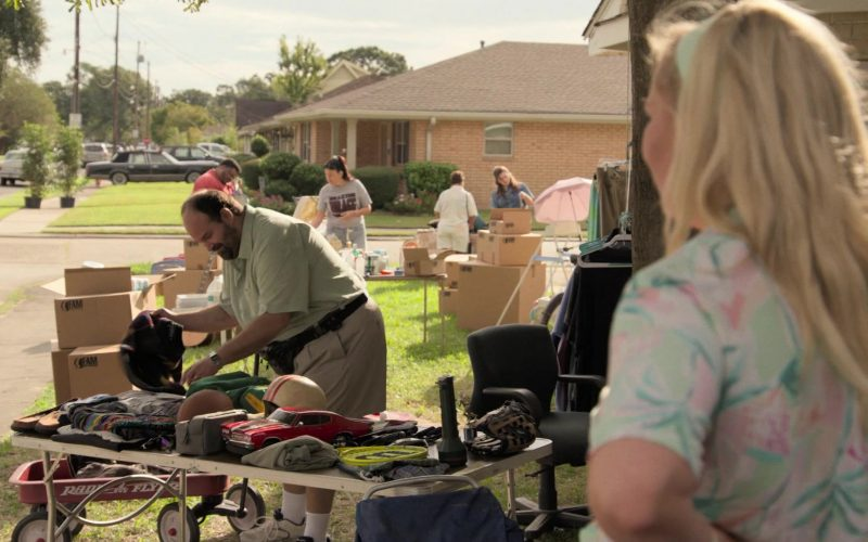 Radio Flyer Toy Wagon Used by Mel Rodriguez in Becoming a God in Central Florida