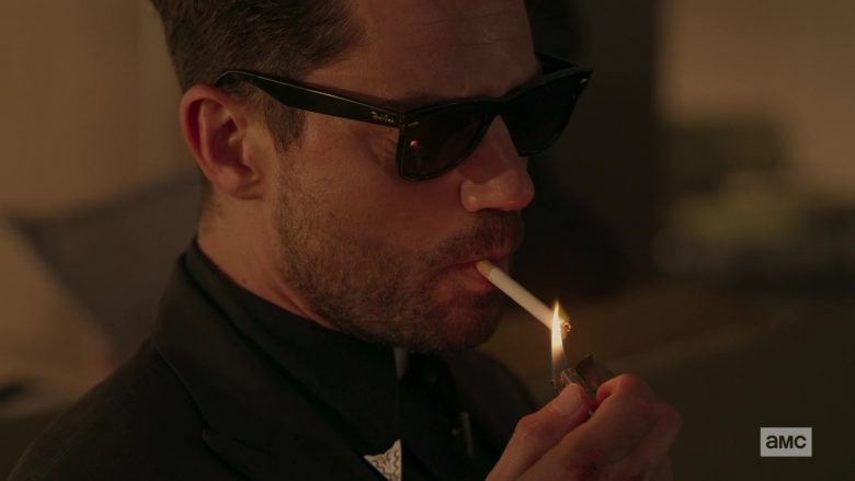 Ray-Ban Wayfarer Sunglasses Worn by Dominic Cooper as Jesse Custer in Preacher - Season 4, Episode 3, Deviant (2019) - TV Show Product Placement