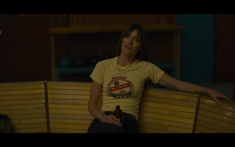 Red Stripe Beer Women's T-Shirt in Mindhunter (5)