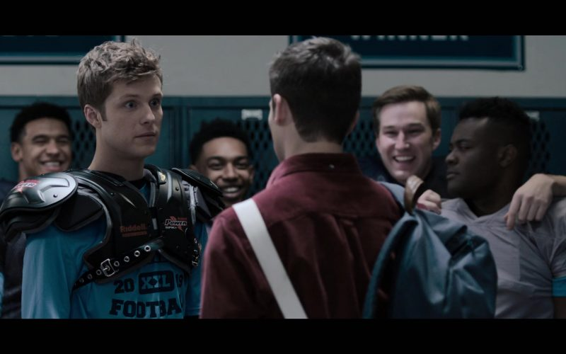 Riddell Power American Football Shoulder Pad in 13 Reasons Why