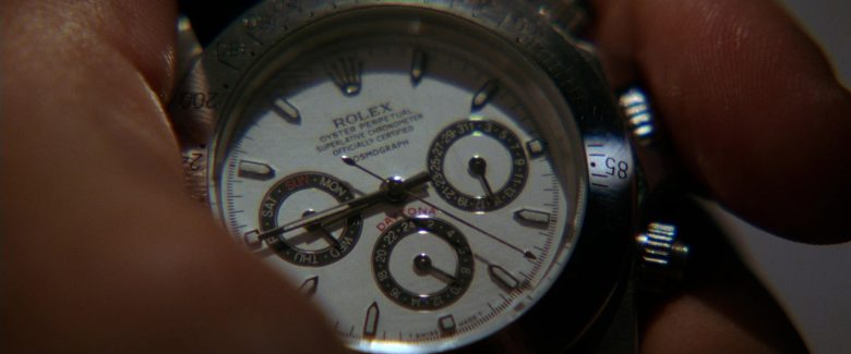 Rolex Watch Used by Uma Thurman as The Bride in Kill Bill: Vol. 2 (2004) - Movie Product Placement