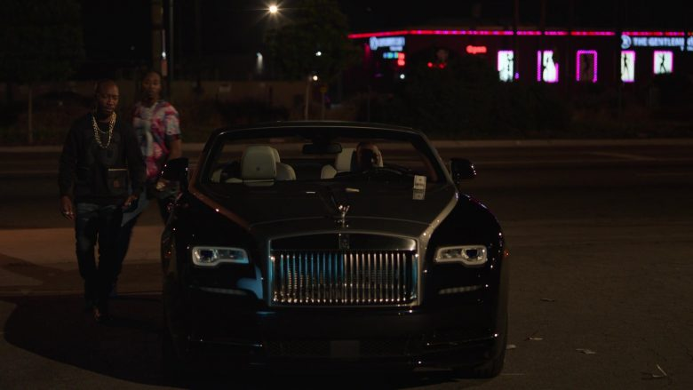 Rolls-Royce Dawn Convertible Car in Ballers - Season 5, Episode 2, Must Be the Shoes (2019) - TV Show Product Placement