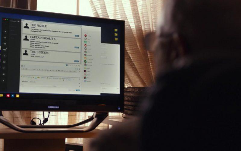 Samsung Computer Monitor in The Tomorrow Man