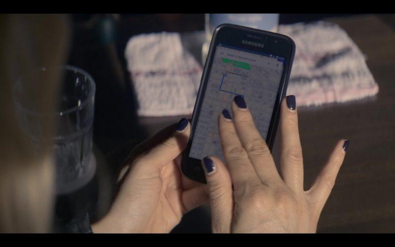 Samsung Galaxy Mobile Phone Used by Katheryn Winnick in Wu Assassins (1)