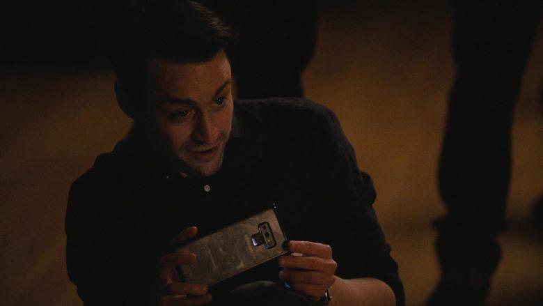 "Samsung Galaxy Smartphone Used by Kieran Culkin in Succession - Season 2, Episode 3, ""Hunting"" (2019) TV Show"