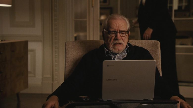 Samsung Laptop in Succession - Season 2, Episode 2, The Vaulter (2019) - TV Show Product Placement