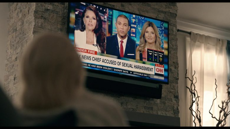 Samsung TV, Sonos Speaker, CNN Television Channel in The Loudest Voice - Season 1, Episode 7, 2016 (2019) - TV Show Product Placement
