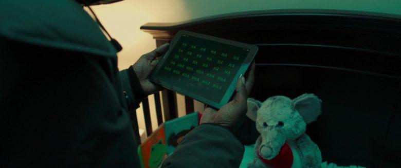 Samsung Tablet in Night Hunter (2018) Movie